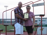 Basehor-Linwood Superintendent David Howard was selected as the 2014 Outstanding Citizen of the Year in July.